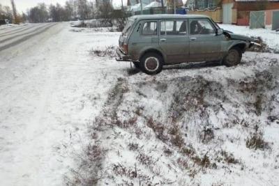 """В Тамбовской области """"Нива"""" вылетела в кювет: двое пострадали"""