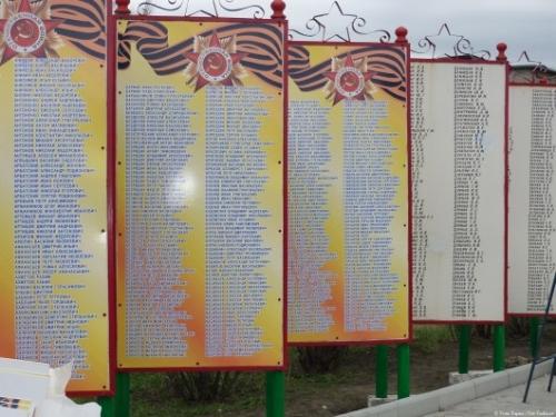 В Тамбовской области откроют памятник воинам-землякам