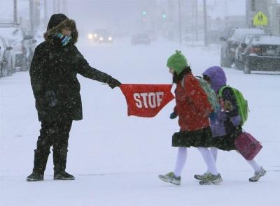 Тамбовским школьникам не рекомендуют идти в школу в сильный мороз