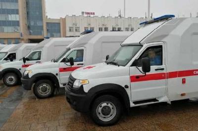 Районные больницы Тамбовской области получили новые машины скорой помощи